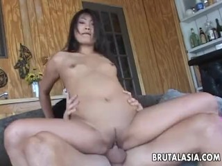 Lucy Lee gets her tight cooch brutally fucked