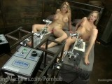 Epic Cumming From Sex Machines