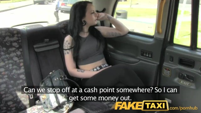Fake Female Taxi Interracial