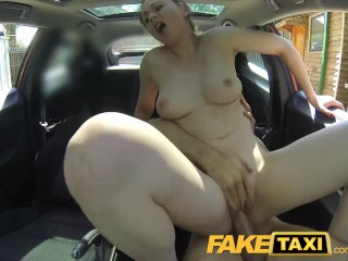 Sex Positions For Good Sex FakeTaxi Posh woman pays good money for a fuck