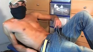 Straight Arab guy doing a porn movie!