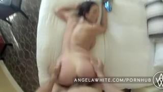 Busty angela pov white fuck boobs pov