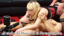 Norsk Porno w MonicaMilf Hot Norwegian Monica BTS from Scandinavia exposed