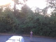 SexyGoofball: outdoor naked dance