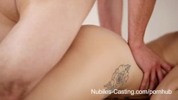 Nubiles Casting - Hungry for cock and fame