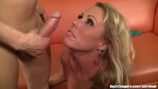 Hot Blonde Milf Gets Fucked Good And Hard