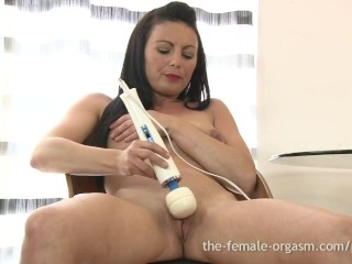 Teacher And Student Fuk Hot Multiorgasmic Babe Masturbates To Numerous Pussy Pulsating Orgasms, Mast