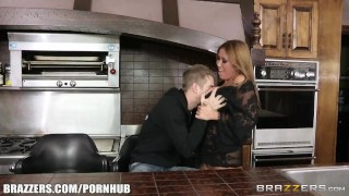 Kianna Dior fucks her sons friend - Brazzers  tit sucking big tits babe canadian asian mom blowjob brazzers big dick busty milf hardcore brunette reality mother big boobs titty fucking