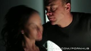 xxx threesome parody raven deepthroat