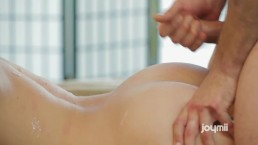 Little Caprice Rides Morning Wood