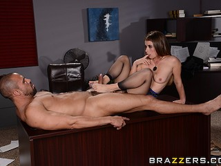 Hot office sex with Bunny - Brazzers