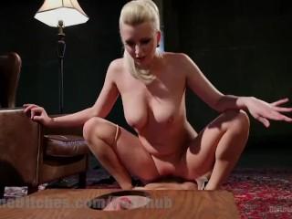 Blonde bbw huge thighs