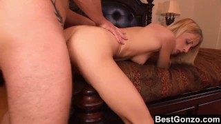 Cute Blonde Kailey Gets A Load On Her Tongue Clit adult