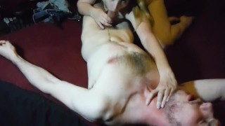 Loud Multiple Orgasm During Thank you Celebration!  homemade riding femdom amateur blowjob blonde missionary webcam rough flogging perky tits pussy licking adultfilmschool