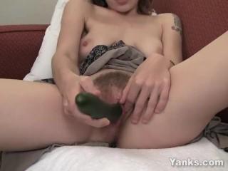 Tattooed Bridgette Masturbating