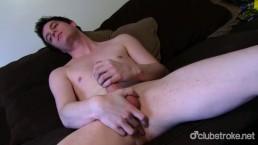 Sexual Straight Josh Masturbating Cock