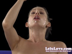 Lelu Love-Smelling Rubbing Spit Saliva On Face