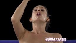 Lelu Love-Smelling Rubbing Spit Saliva On Face
