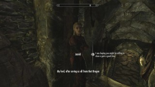 Skyrim: Sex With Astrid (Testing Her Loyalty To Her Husband) Perky tits