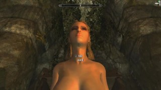 Skyrim: Sex With Astrid (Testing Her Loyalty To Her Husband) Anal in