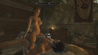 Skyrim: Sex With Astrid (Testing Her Loyalty To Her Husband) Hentai gaming