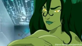 Preview 3 of shehulk hentai