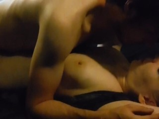 No Hands Blowjob & Loud Double Orgasms
