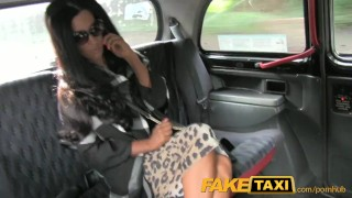 FakeTaxi Cheating hot MILF gets caught out on spycam Cock missionary