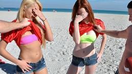 Mofos - Striptease de belles filles sexy