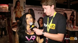 PornhubTV Alby Rydes Interview at eXXXotica 2014 Atlantic City