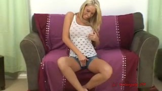 Shawna Lenee rubs 1 out for Petergirls  bubble butt teen girl fingers herself teen cheerleader big tits teen masturbate blonde young teenager vibrating dildo cute teen povporn petergirls fake tits