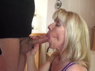 Fuck A Hot Slut Fucking, Quickie Bathroom Blowjob- 90423 Blonde Blowjob Mature Pornstar Exclusive Ve