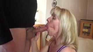 - Carol Cox Quickie Bathroom Blowjob - 090423