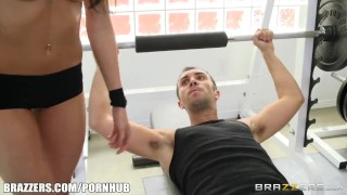 Kortney Kane's needs help stretching - Brazzers Woman rule
