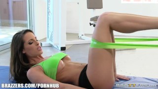 Stretching help kortney brazzers needs kane's ass deepthroat