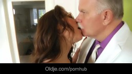 Old butler serve sex to his ca