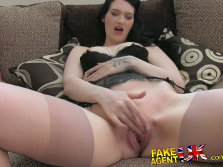 Passion Fetish Model Fakeagentuk Amateur Brit Girl Shows Impressive Deep Throat Skills, Amateur Hardcore Reality