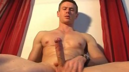 Handsome gym trainer gets wanked his big dick by us.