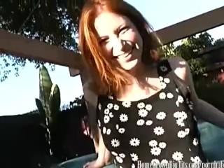 Sassy fras fucked hard in the backyard