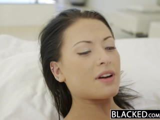 Ass To Mouth Anal Threesome Blacked Teen Beauty Tries Interracial Anal Sex