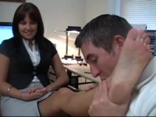 secretary feet worship