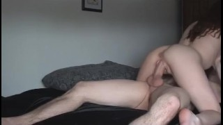 Shagging his hot babe hard Eating pussy