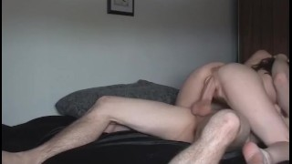 Shagging his hot babe hard Fuck of