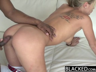 BLACKED Back for 2 Big Black Dicks
