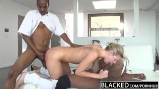 - Blacked Prince Yahshua Back For 2 Big Black Dicks