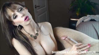 Let Me Take Care of Your Cock! ShandaFay!  licking cum big tits masturbation babe canada femdom canadian mom amateur cumshot pov busty shandafay brunette mother stroking