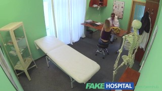 FakeHospital doctors trusty cock ignores the language barrier