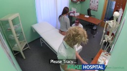 FakeHospital Both doctor and nurse give new patient thorough sexual check