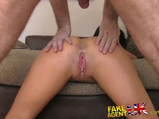 FakeAgentUK Cowgirls and creampies on the casting couch