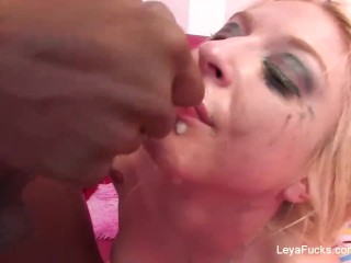 Teen Porn Asains Fucking, LeyA Falcon Sucks and fucks a big black cock Big Dick Big Tits Interracial